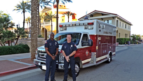 Cathedral City, California, CA Paramedics.