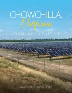 Chowchilla, California brochure cover.