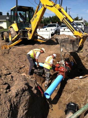 Chowchilla, California, CA neighborhood street upgrades.