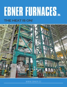 Ebner Furnaces Inc brochure cover.