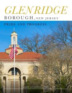 Glen Ridge Borough, New Jersey brochure cover.