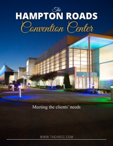 Hampton Roads Convention Center brochure cover.