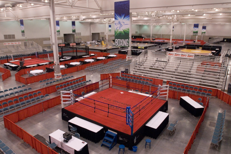 Hampton Roads Convention Center boxing event pre guests.