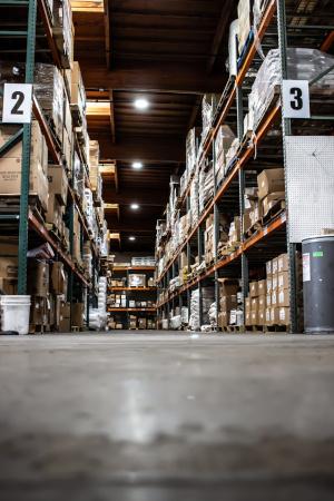 Revchem Composites warehouse.