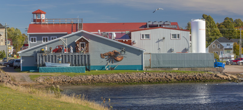 Shediac Lobster Shop Ltd. building exterior.