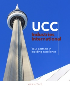 UCC Industries International brochure cover.