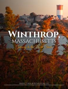Winthrop, Massachusetts brochure cover.