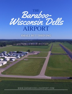 Baraboo-Wisconsin Dells Airport cover.