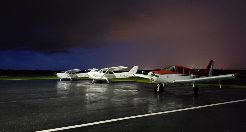 Bartow Executive Airport Flight School Aircraft.