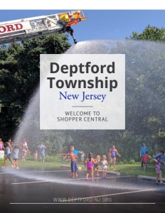 Deptford Township, New Jersey brochure cover.