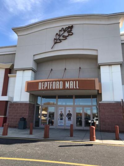 Deptford Township, New Jersey Deptford Mall entrance.