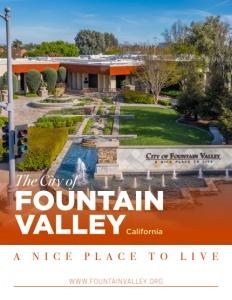 Fountain Valley, California brochure cover.