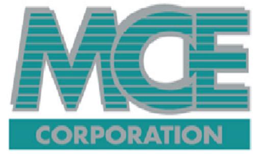 MCE Corporation logo.