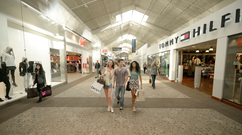 Ontario, California photo of people walking at Ontario Mills.