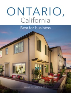 Ontario, California brochure cover.