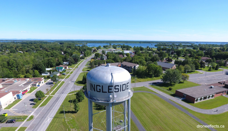 South Stormont Township, Ontario, Ingleside water tower.