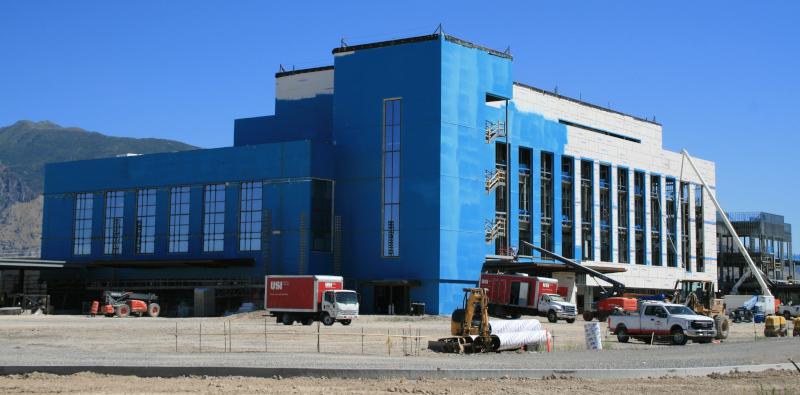 Spanish Fork, Utah building under construction.