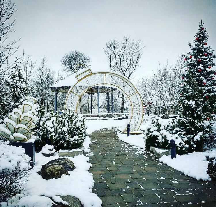 Erin, Ontario McMillan Park Christmas