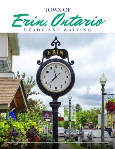 Erin, Ontario brochure cover.