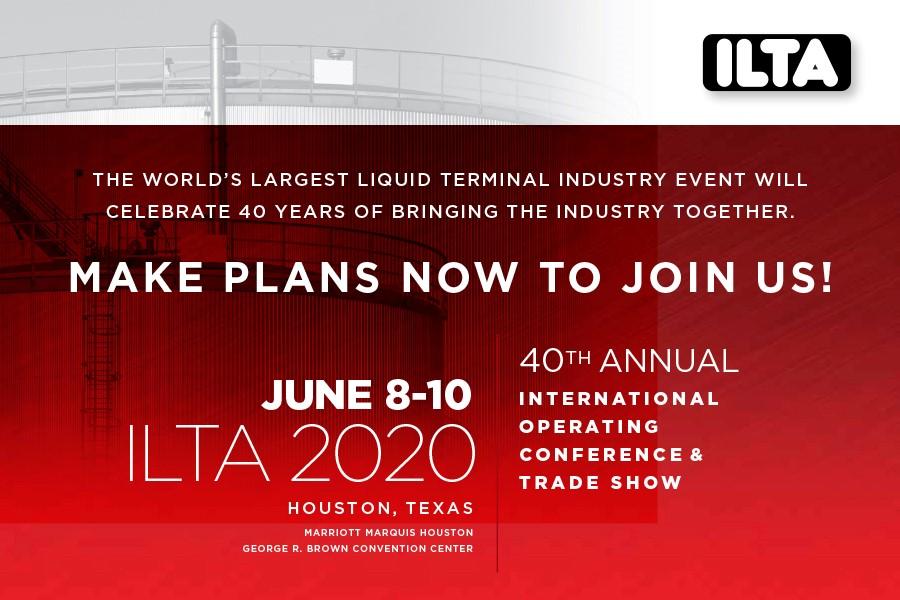 International Liquid Terminal Association June 2020 conference ad.