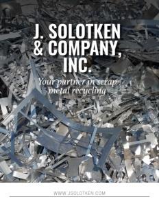 J Solotken & Company Inc. brochure cover.