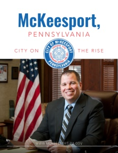 McKeesport, Pennsylvania brochure cover.