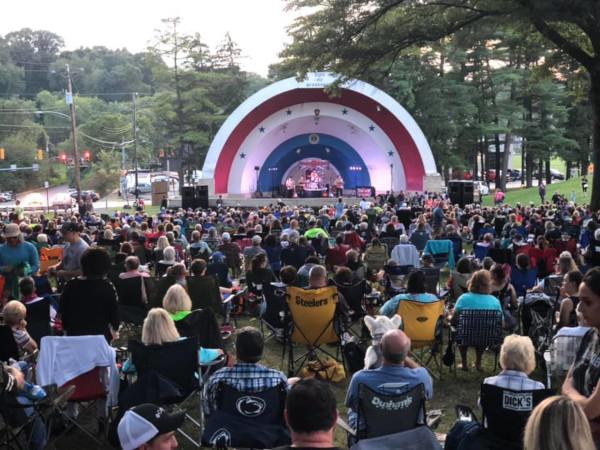 McKeesport, Pennsylvania concert