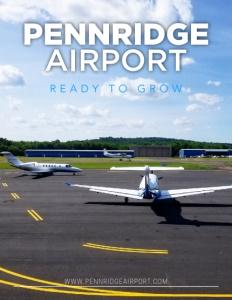 Pennridge Airport brochure cover.