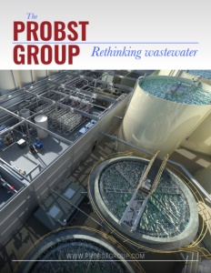 Probst Group brochure cover.