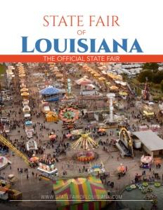 State Fair of Louisiana brochure cover.