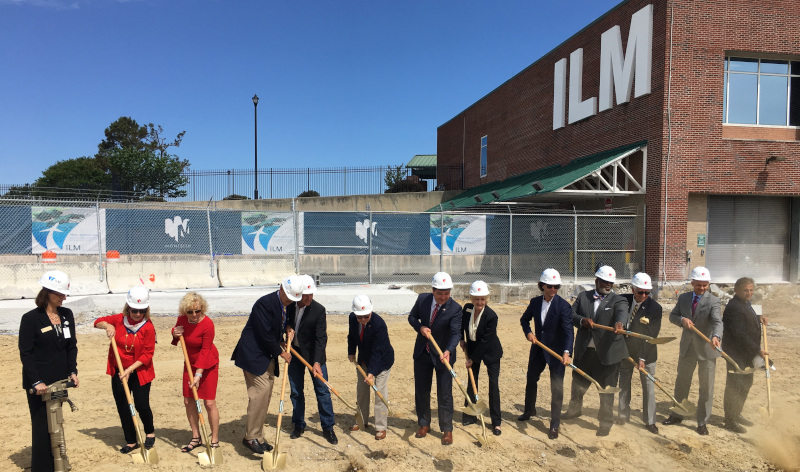 Wilmington International Airport ILM Stakeholders break ground on new terminal.