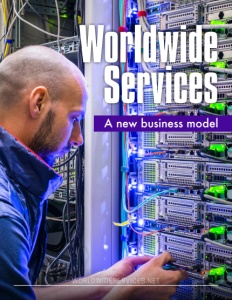 Worldwide Services brochure cover.