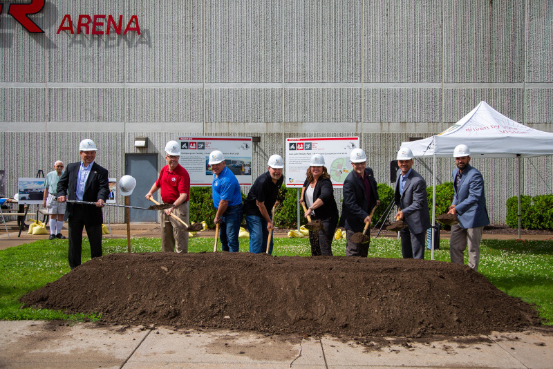 Elk River, Minnesota Multipurpose Facility Groundbreaking on July 10, 2019