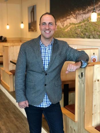 TAZIKIS Mediterranean Cafe CEO Dan Simpson