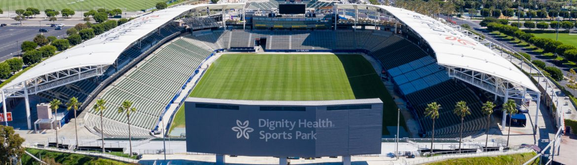 Dignity Health Sports Park Aerial View