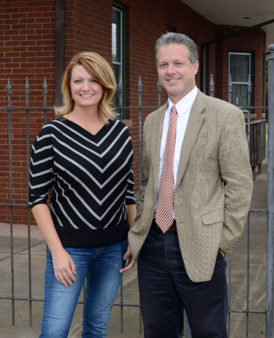 Lawrenceville, Georgia CCO/Community Development Director, Lisa Sherman; City Manager, Chuck Warbington.