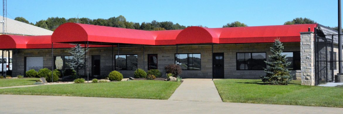 Monroe County Airport building.