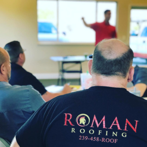 Roman Roofing Training