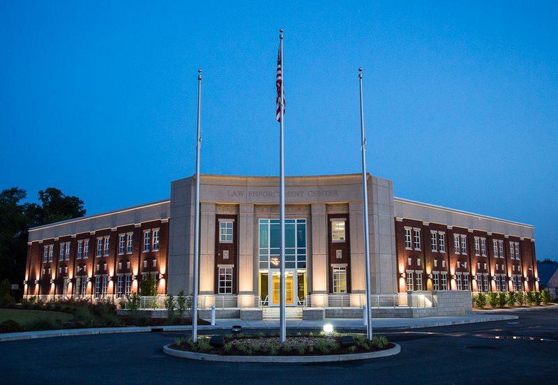 Warner Robins, Georgia Law Enforcement Center building.