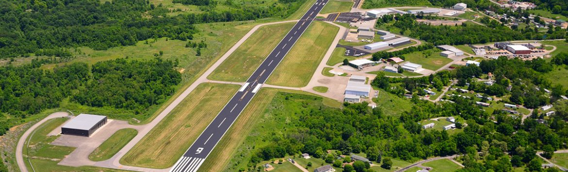 Washington County Airport aerial runway.