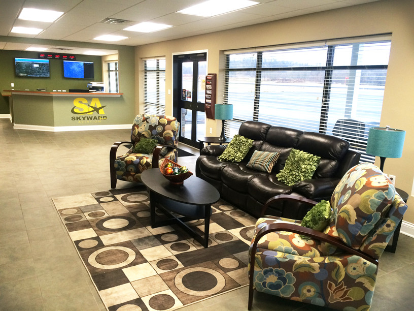 Washington County Airport FBO Interior.