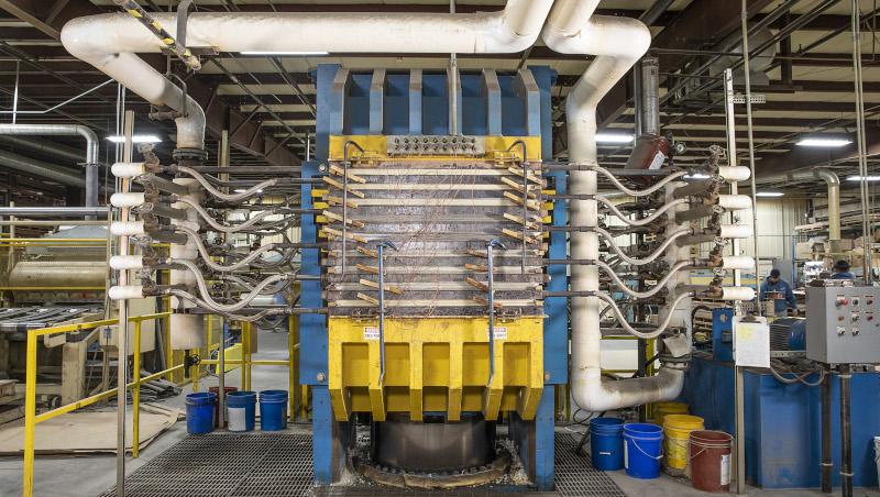 Accurate Plastics Inc. machine.