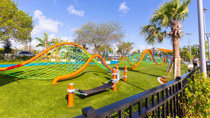 Hallandale Beach, Florida Peter Bluesten Park