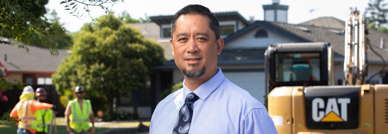 Modesto, California Director of Utilities, William Wong.