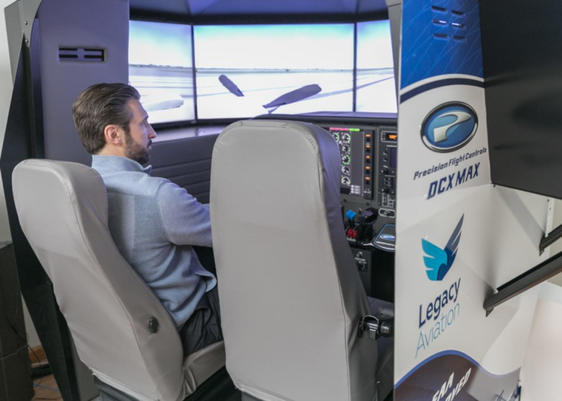 Northeast Philadelphia Airport Legacy Aviation simulator
