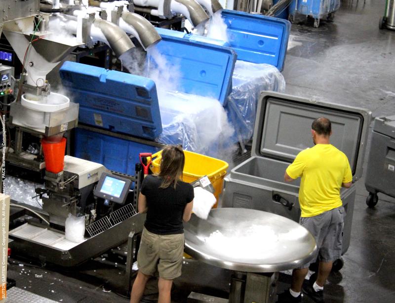 Sutton-Garten Co. Dry Ice Manufacturing.
