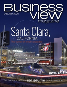 January 2020 issue cover for Business View Magazine