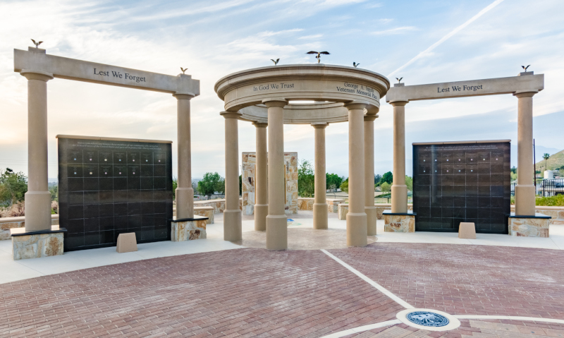 Norco, California Veterans Memorial Plaza