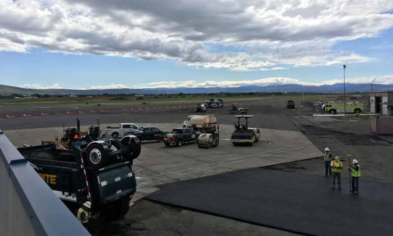 Yakima Air Terminal McAllister Field Apron Project.