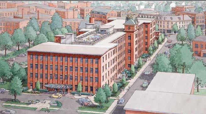 Biddeford, Maine Lincoln Mill Rendering
